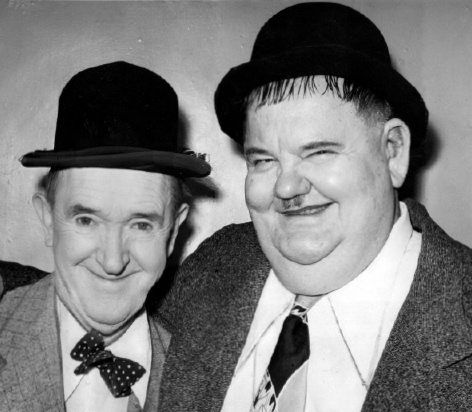 LAUREL and HARDY 1953 British Tour