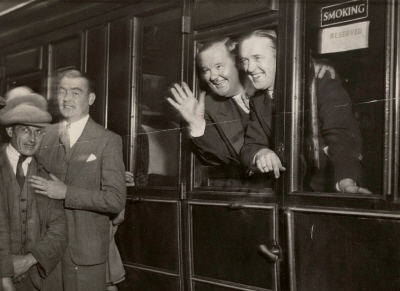 LAUREL and HARDY Newcastle BRITISH TOURS 1932