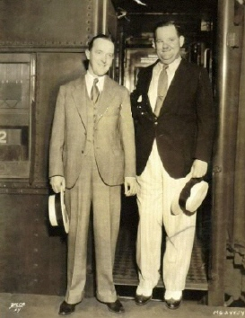 LAUREL and HARDY New York 1932