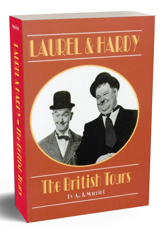 Laurel Hardy British Tours by A.j Marriot