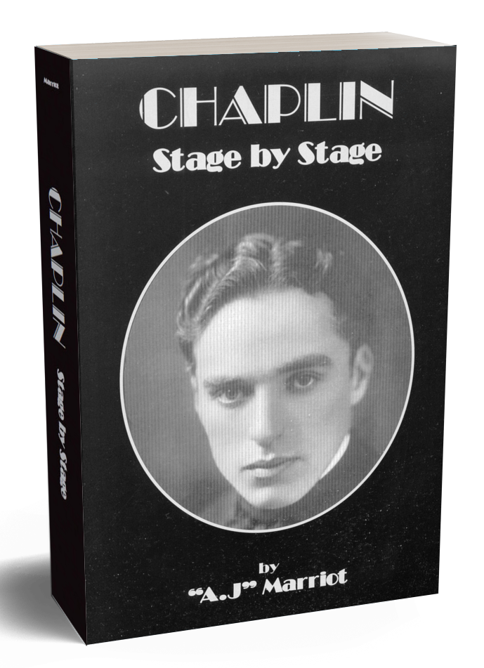 CHAPLIN Stage by Stage First Edition A.J Marriot