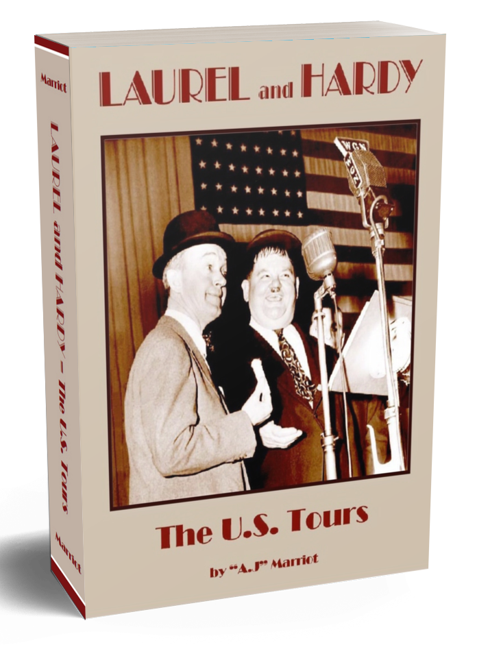 Laurel Hardy US America Tours by A.j Marriot