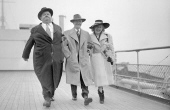 LAUREL and HARDY Queen Elizabeth 1947