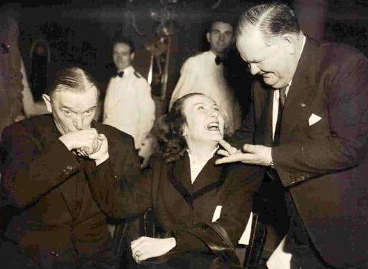 LAUREL and HARDY in Paris France 1947