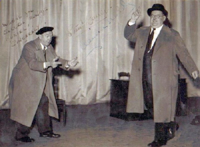LAUREL and HARDY in Brussels Alhambra BELGIUM 1947