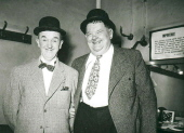 LAUREL and HARDY A Spot of Trouble BRITISH TOURS 1952