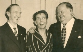LAUREL HARDY with NORMAN WISDOM 1952