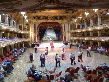 Blackpool Tower Ballroom 2013 at Laurel and Hardy Books