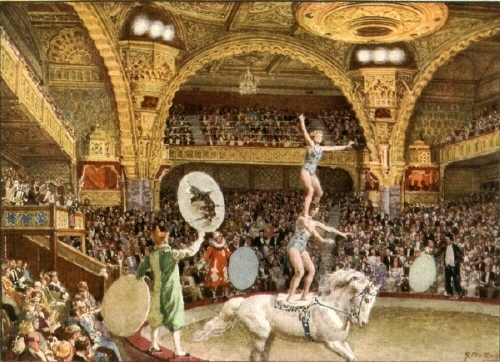 Blackpool Tower Circus 1932