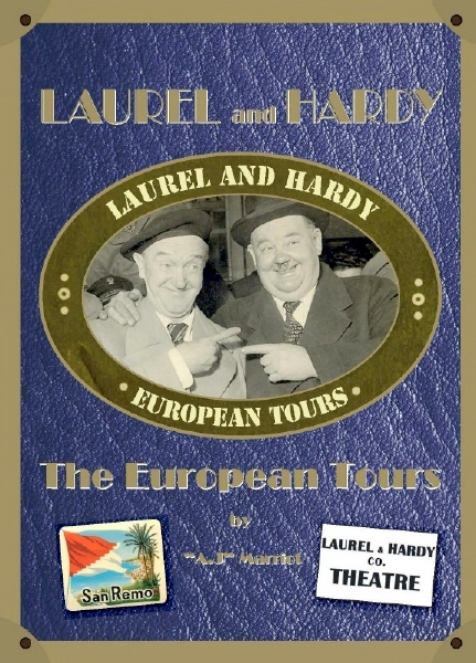 LAUREL and HARDY EUROPEAN TOURS book