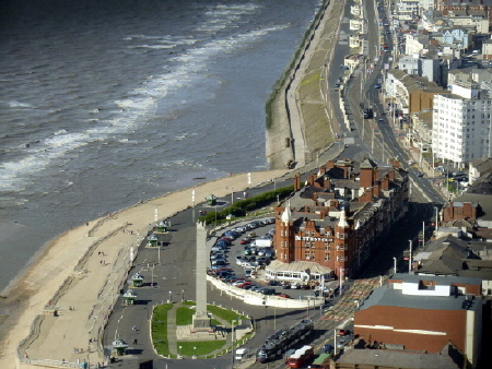 Metropole Hotel from Blackpool Tower