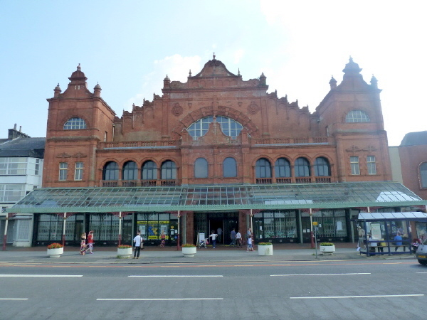 Morecambe Winter Gardens facade
