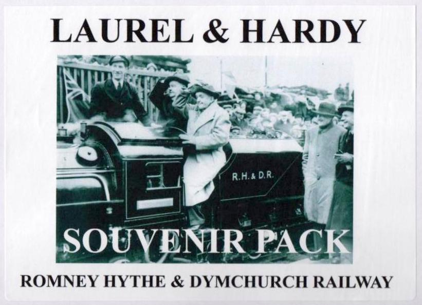 LAUREL and HARDY Romney Hythe Railway
